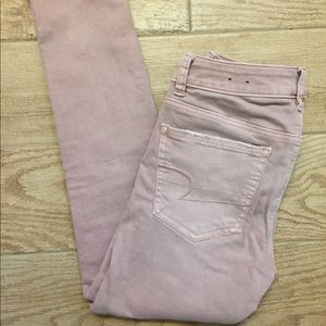 American Eagle Cropped Jegging Size 4